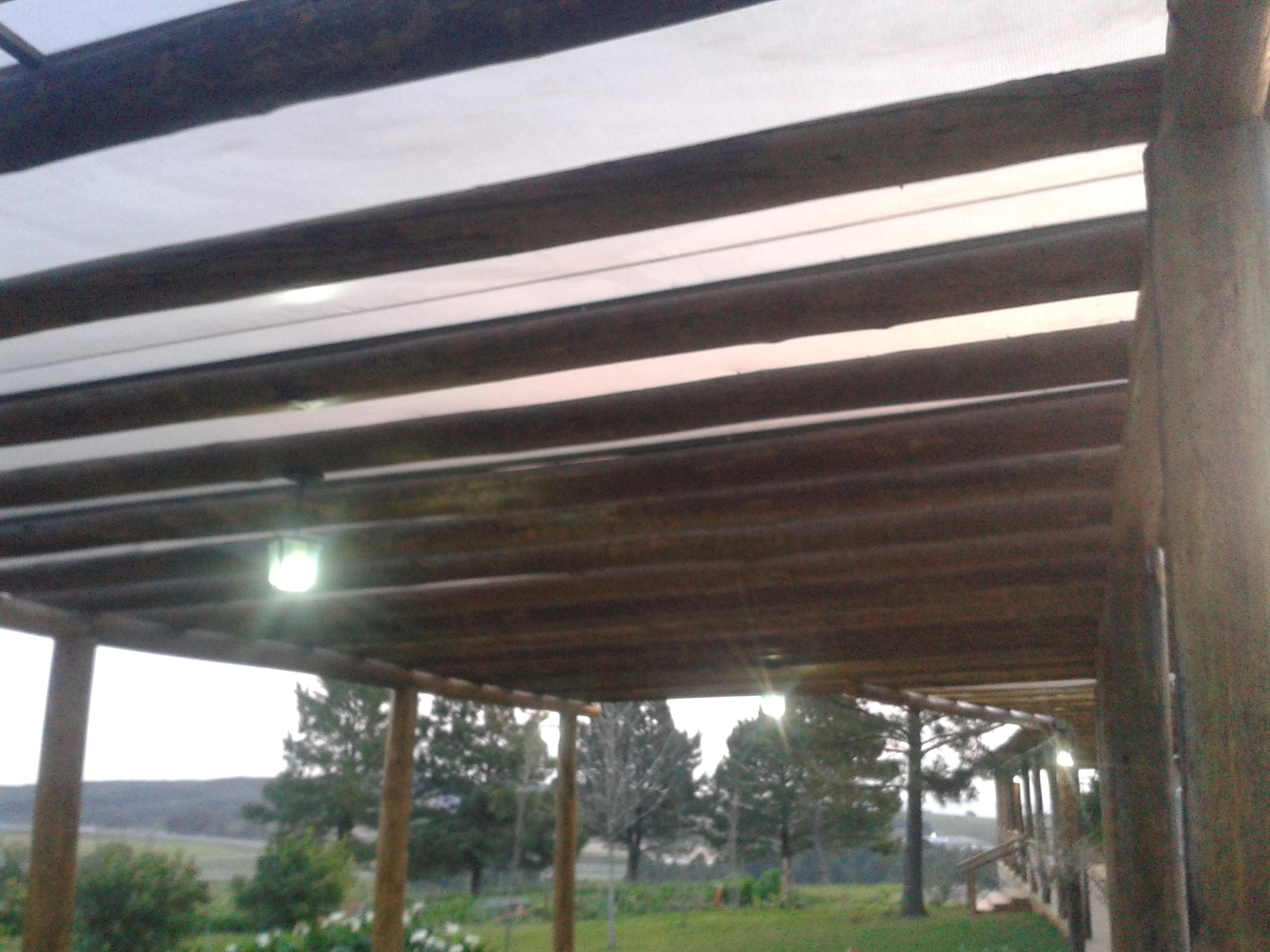 Pergolado com lona cheap toldos sunteck toldos sunteck for Toldos para patios precios